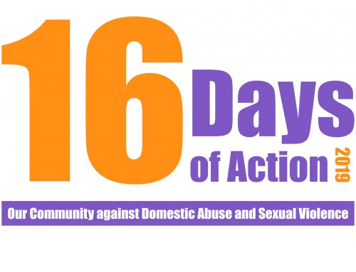 16 Days of Action 2019 – Our Community Against DASV
